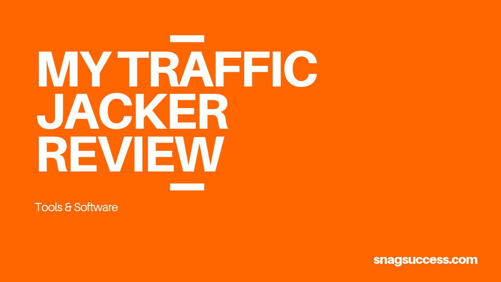 MyTrafficJacker Review 2019