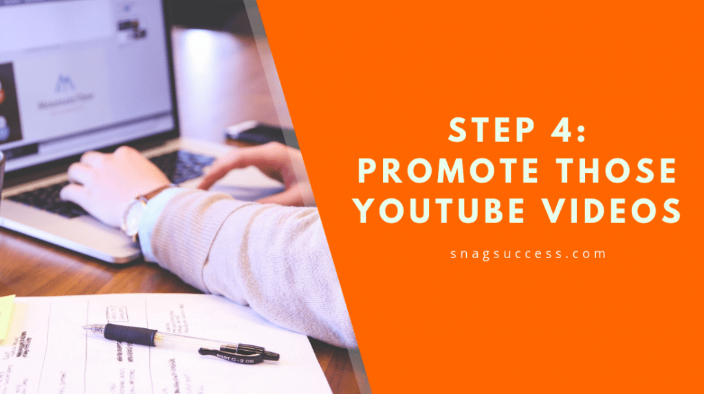 Promote Those Youtube Videos