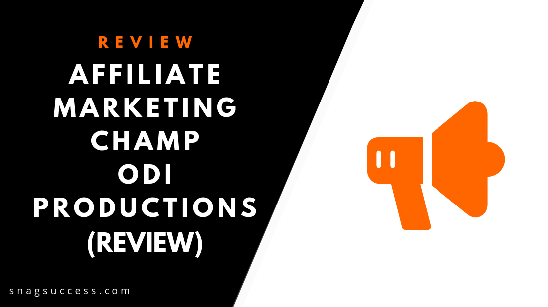 Affiliate Marketing Champ Review