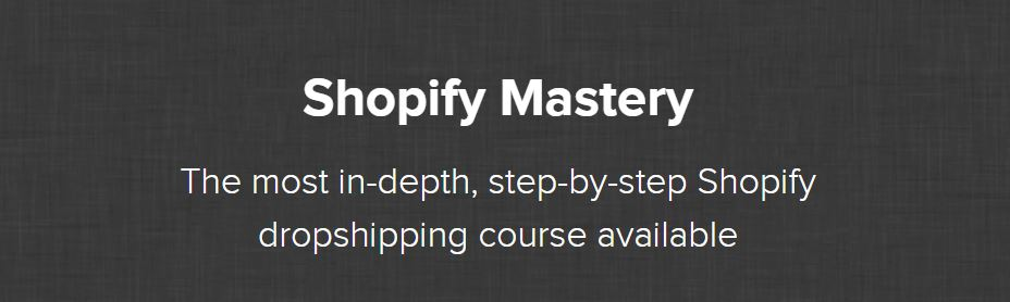 Shopify Mastery Review