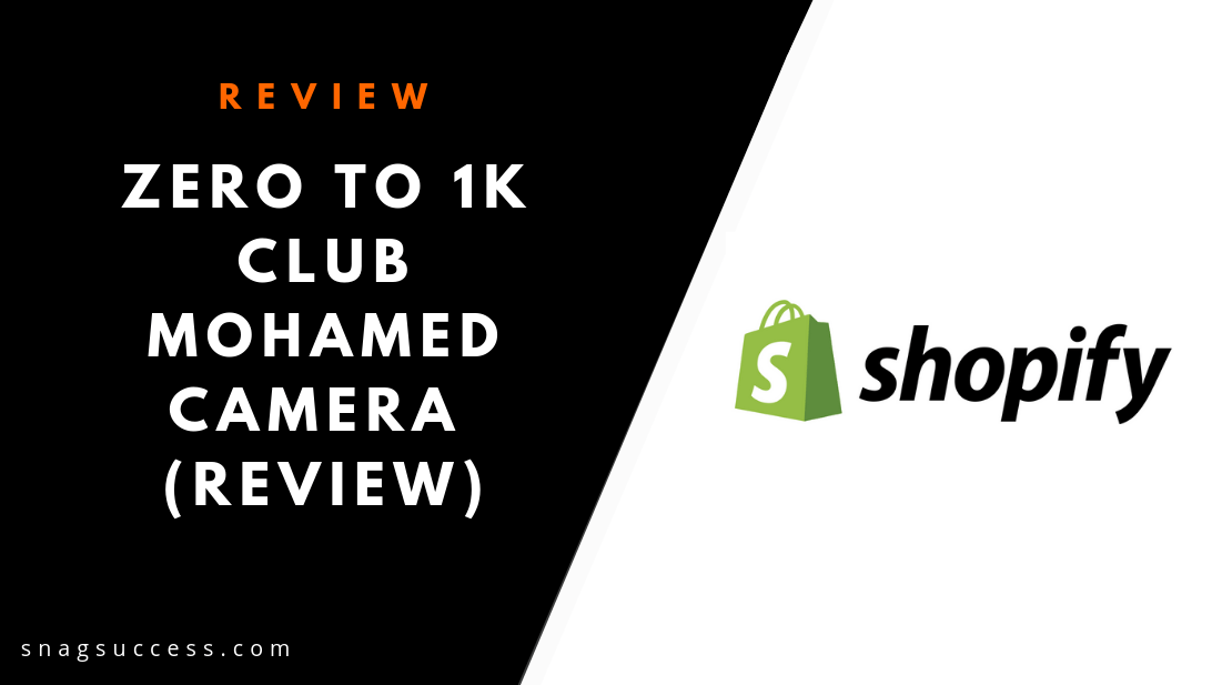 Zero To 1K Club Mohamed Camera Review