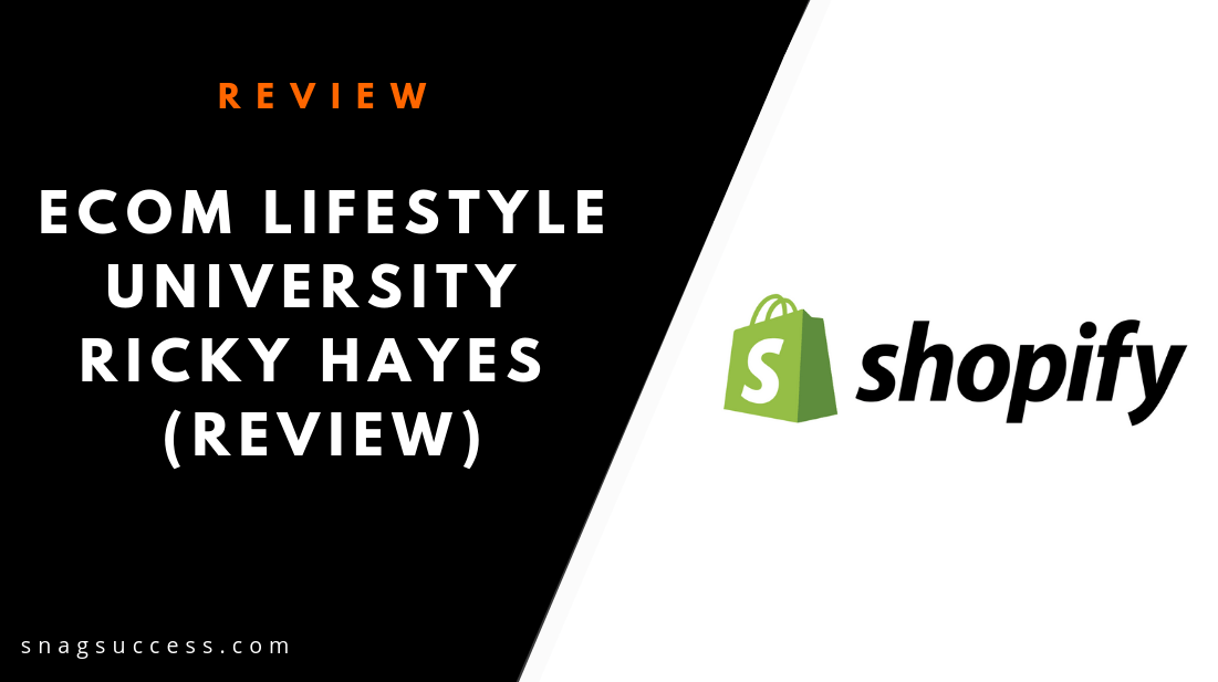 eCom Lifestyle University Ricky Hayes Review