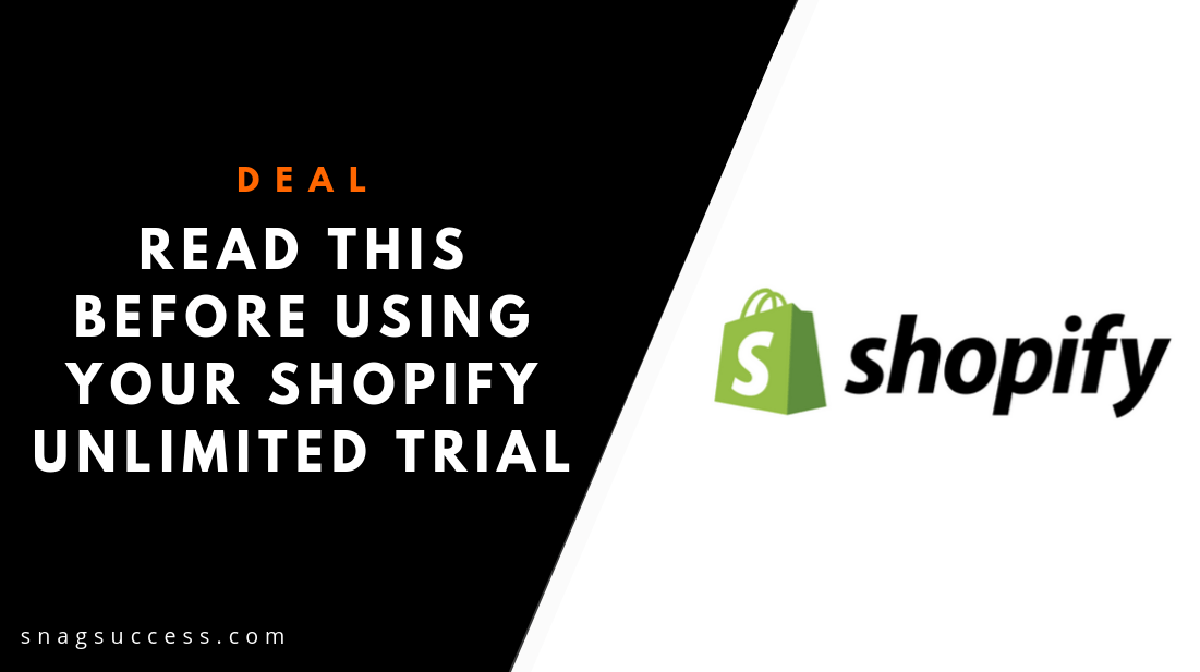 Read This Before Using Your Shopify Unlimited Trial