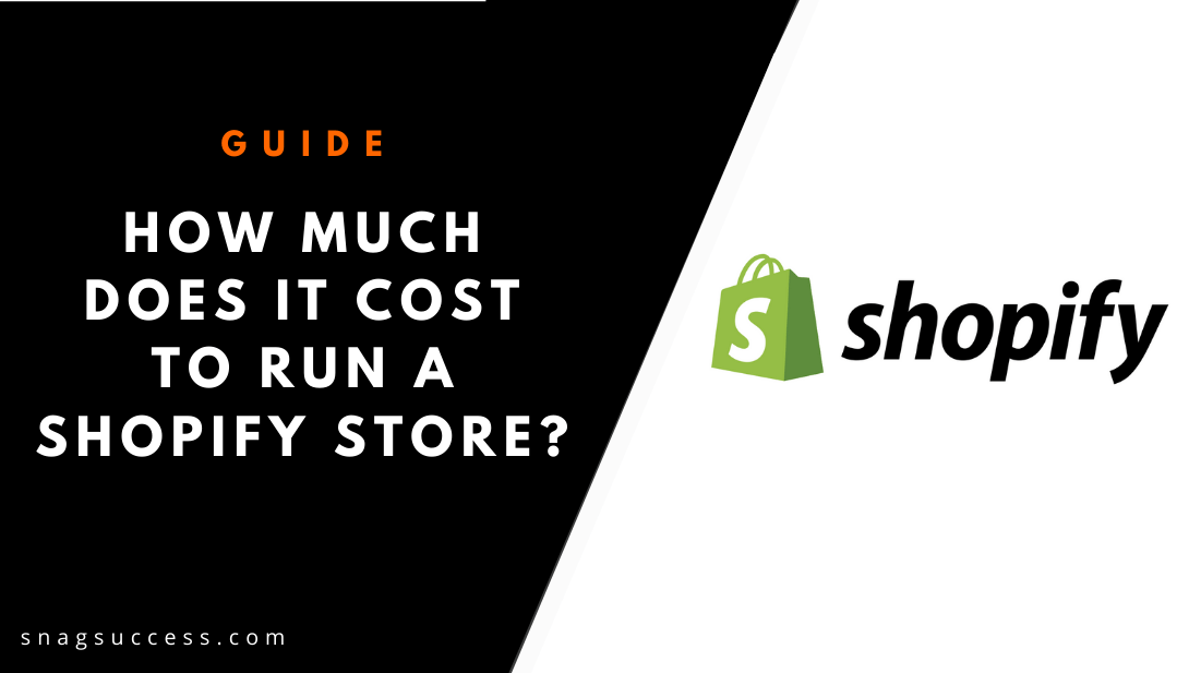 How Much Does It Cost to Run A Shopify Store