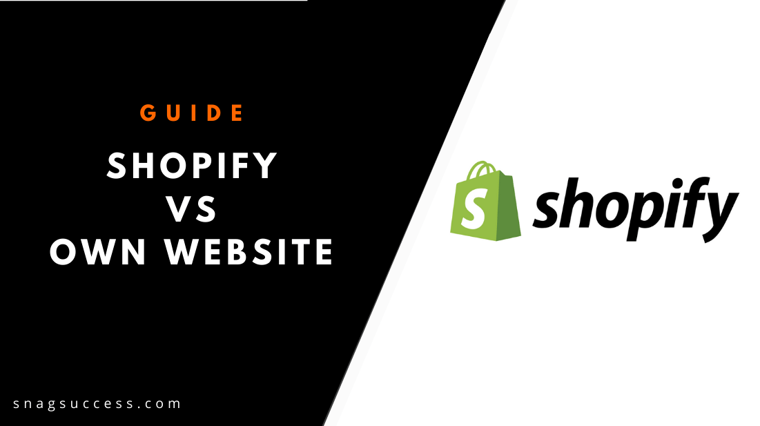 Shopify Vs Own Website