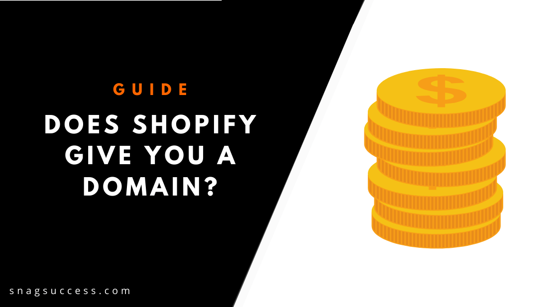 Does Shopify give you a domain